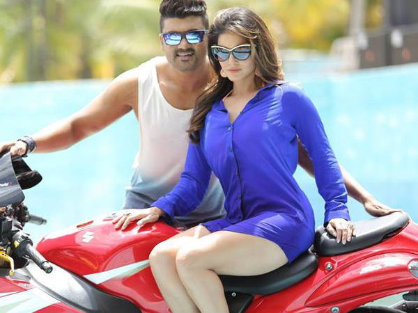 Hot Srujan Lokesh And Sunny Leone