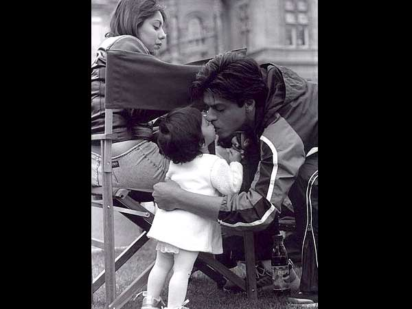Image result for shahrukh baby suhana