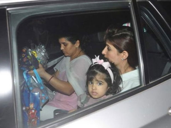 Nitara Spotted With Twinkle