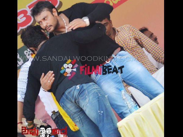 Aww Moment Between Darshan And Puneeth Rajkumar!
