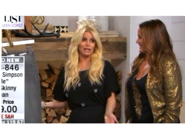 Jessica Simpson Accused Of Coming Drunk On HSN, Slammed On Twitter