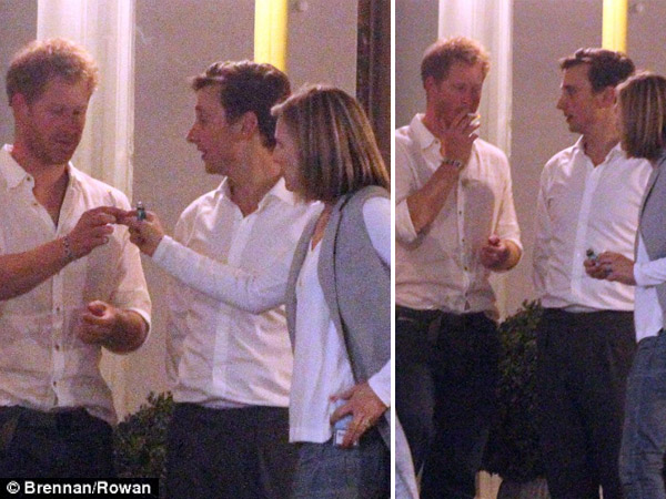 Prince Harry Still Can't Quit Smoking, Snapped Taking Drags On His Birthday Bash