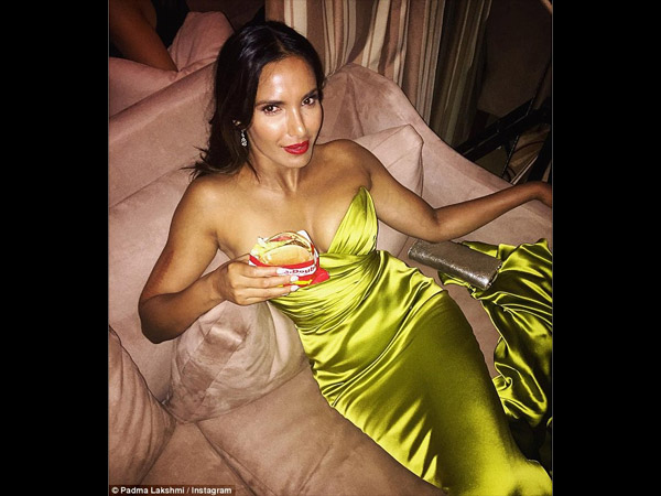 Here's What Padma Lakshmi Craved For During Emmys 2015