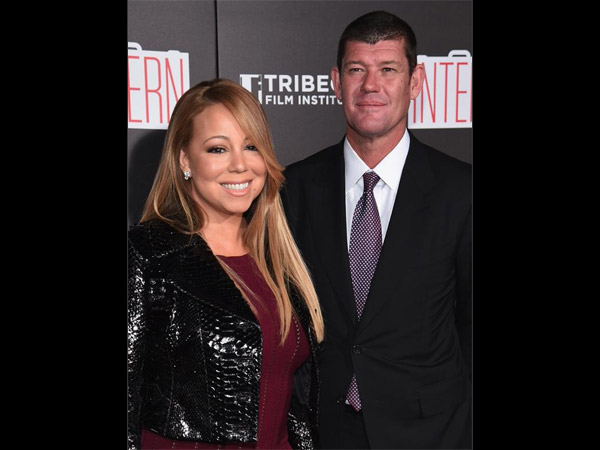 Mariah Carey and James Packer Debut As A Couple At The Intern Premiere
