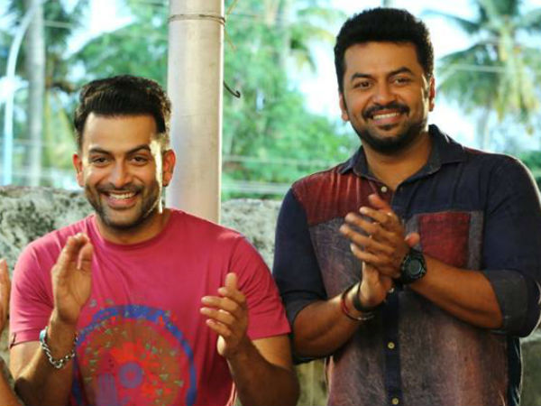 Prithviraj And Indrajith Back Together