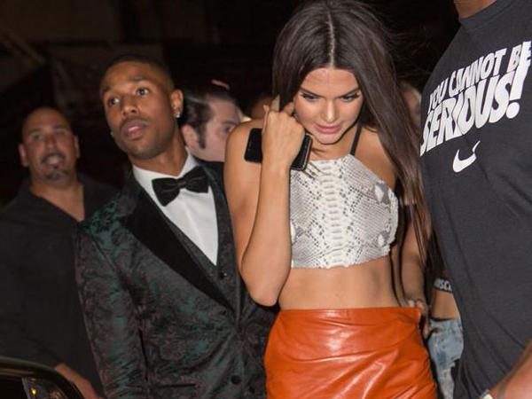Michael B. Jordan Addresses Dating Rumours With Kendall Jenner