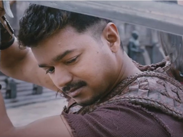 The Second Trailer Of Puli Creates A Record Too!