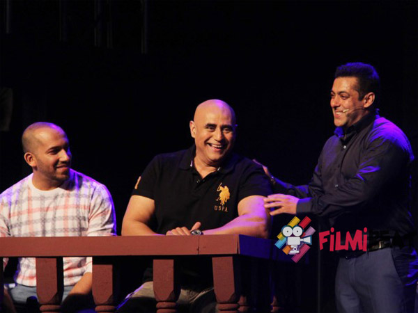 Salman Having Fun