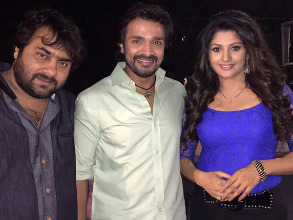 Namagaagi Stars With Director Raghu Ram