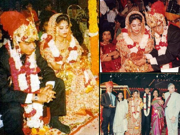 Flashback Pictures When Shahrukh Khan Married Gauri On October 25 1991 Filmibeat
