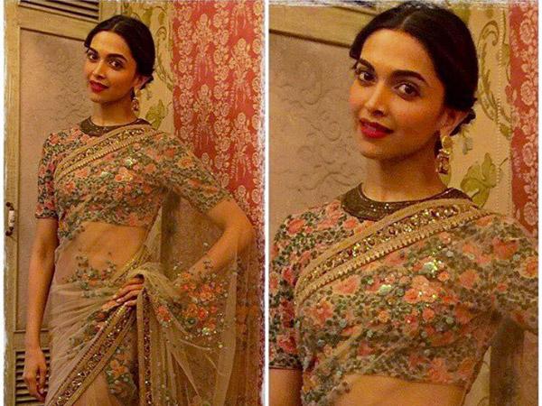 Deepika Padukone| Photoshoot| In| Traditional Wear ...
