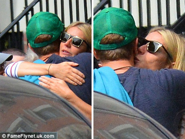 Exes Gwyneth Paltrow & Chris Martin Reunite For Her 43rd Birthday