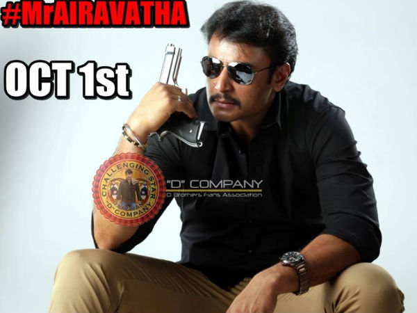 WATCH: 'Mr Airavata' Mania At Santhosh Theatre; Darshan's Fans Go Crazy For Tickets
