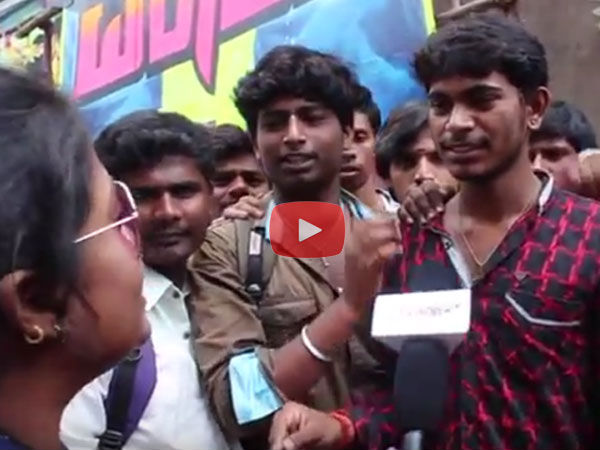 WATCH: 'Mr Airavata' Mania At Santhosh Theatre; Darshan's Fans Go Crazy For Tickets!