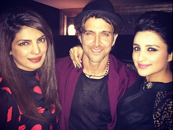Hrithik With Chopra's