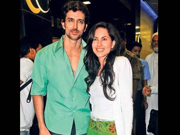 Hrithik With Barbara Mori