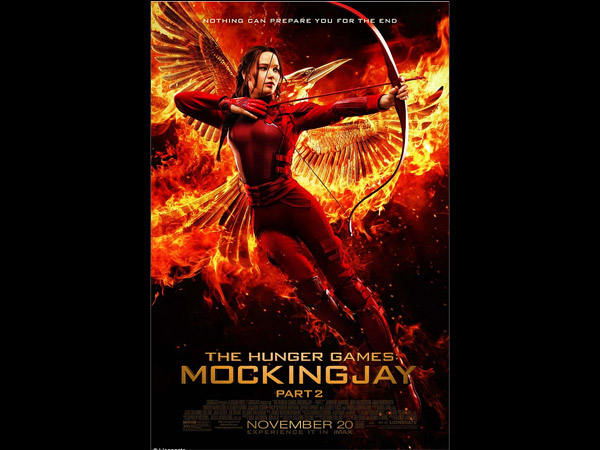 Jennifer Lawrence Is Fierce In Hunger Games Mockingjay 2 Final Poster