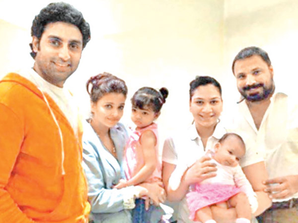 The Bachchans With Friends