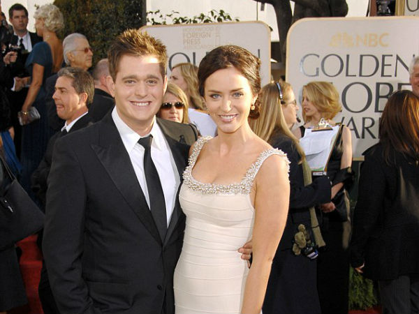 Emily Blunt Dishes About Ex, Michael Buble & Addresses Those Cheating Rumours