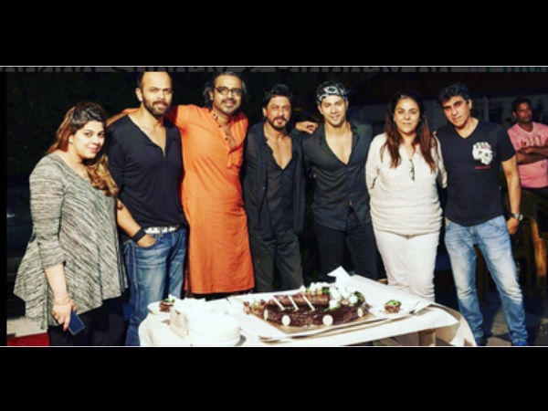Avinash With Dilwale Team
