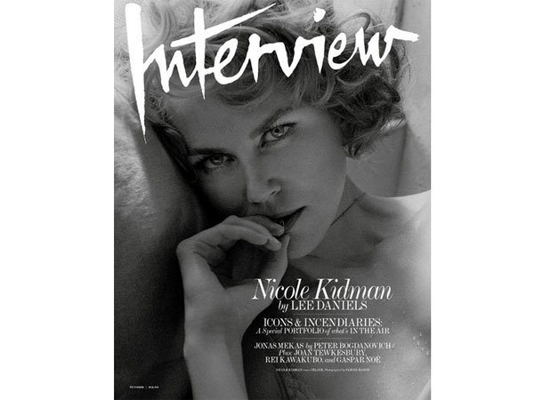Nicole Kidman Dons The Sultry Retro Look For Interview Magazine