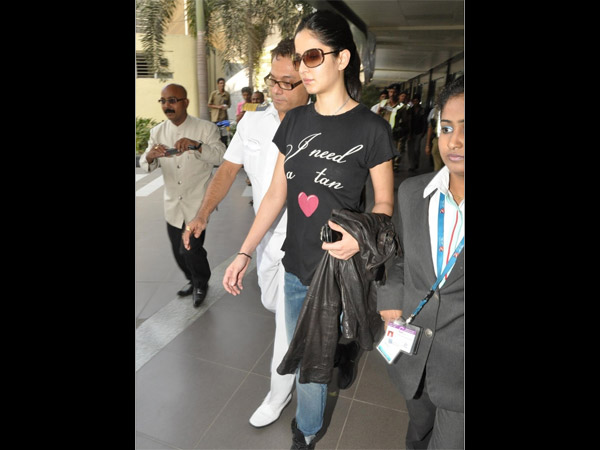 Katrina At Airport