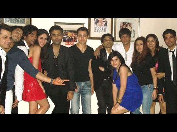 SRK-Uday With Other Celebs