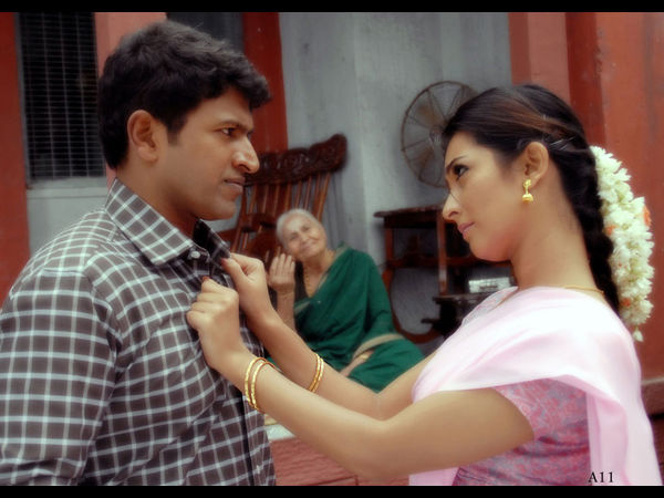 Puneeth Rajkumar And Radhika Pandit