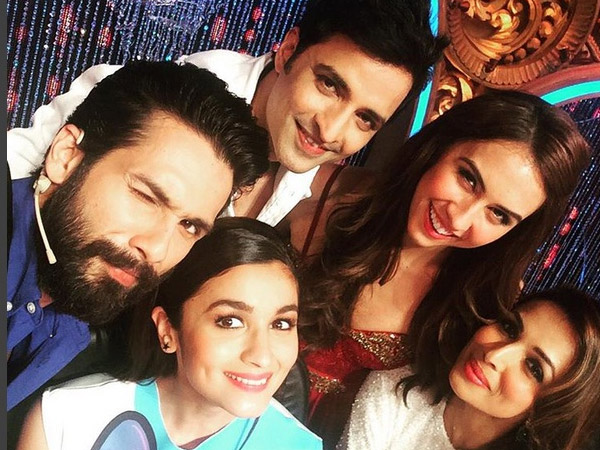 Another Selfie...Alia With Jhalak Judges