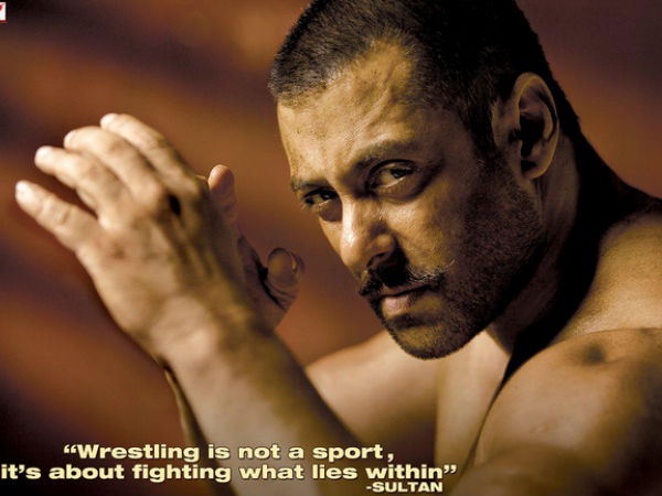 Salman Khan's First Look In Sultan