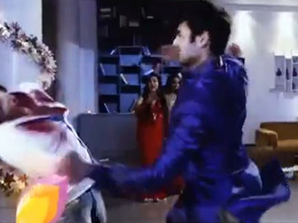 Lakshya-Sanskar Fight