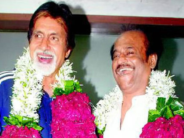 Big B-Rajinikanth
