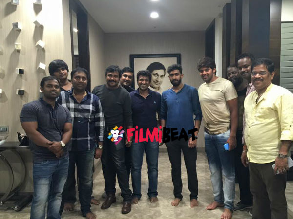 Chakravyuha's Kollywood Connection: Actor Arya Bonding With Puneeth Rajkumar