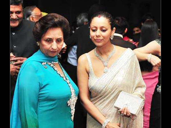 Gauri With Mother