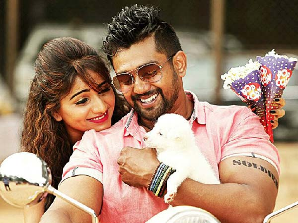 Dhruva Sarja And Rachita Ram