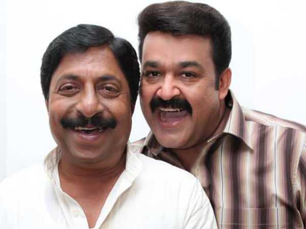 Mohanlal Is Reluctant To Do Negative Roles: Sreenivasan