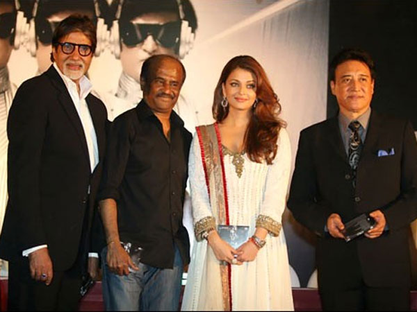 Big B-Rajini-Aish