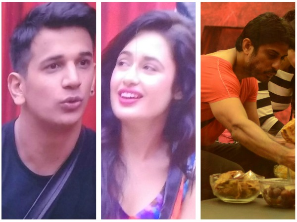 Yuvika Choudhary Gets Lucky With Double Support - Vikas Bhalla & Prince Narula