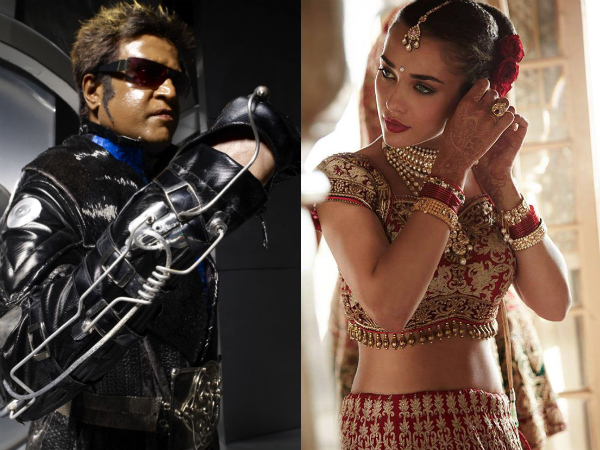Amy Jackson Paired Opposite Rajinikanth?