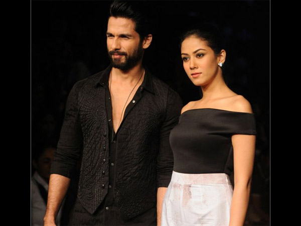 Shahid With Mira