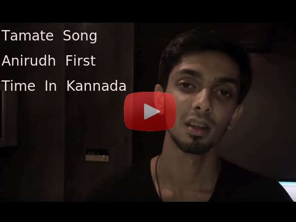 WATCH: 'Kolaveri Di' Fame Anirudh Sings First Kannada Song For Jwalatham