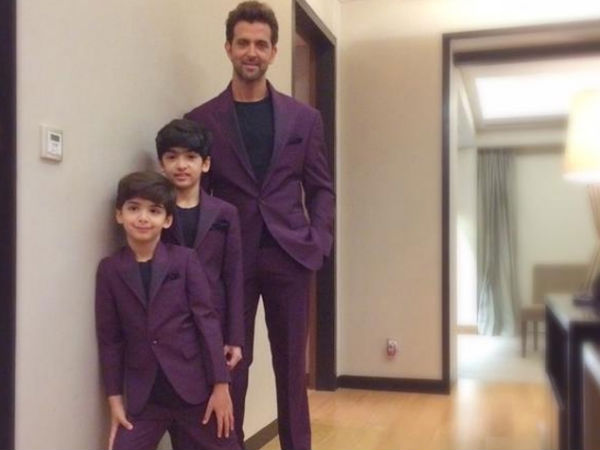 10 Adorable Pics Of Hrithik Roshan With His Children ...