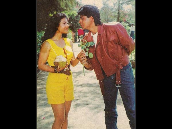 Kajol And Shahrukh