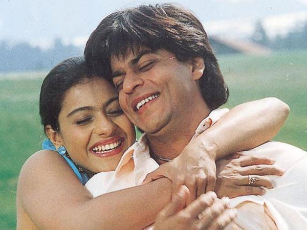 Kajol With Shahrukh
