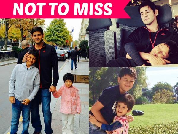 Mahesh Babu Mahesh Babu Family Pics Mahesh Babu Paris Vacation