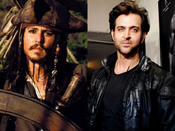 Hrithik Roshan To Play Johnny Depp Character Captain Jack