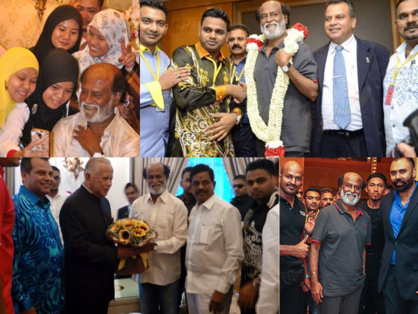 Rajinikanth Takes Malaysia By Storm: A Royal Welcome Followed By Lunch With The Governor!