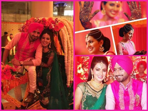 Image result for Harbhajan Singh, Geeta Basra