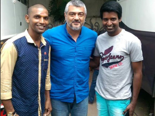 Thala Ajith's Encouragement