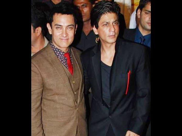 Aamir And Shahrukh